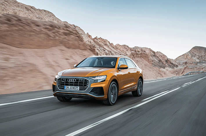 <strong>Audi Q8</strong> – ein neues Familienmitglied